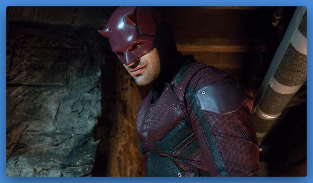 daredevil-suit-charlie-cox-hollywood movie costumes and props for sale