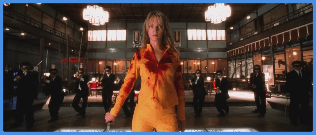 kill-bill-crazy-88-fight-movie themed costumes for groups