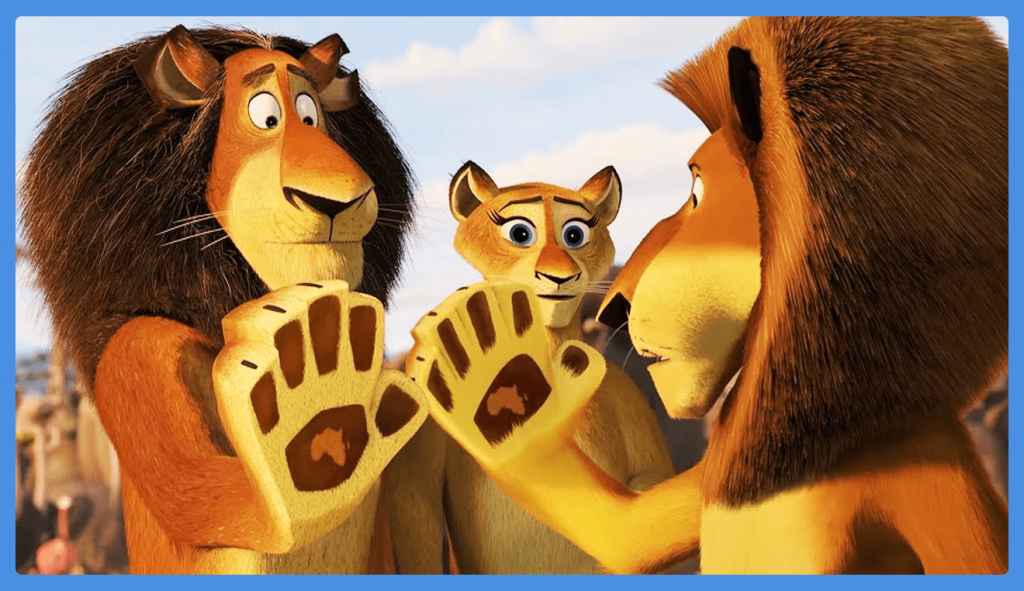 madagascar-escape-africa-dreamworks-ideas for family movie night at home