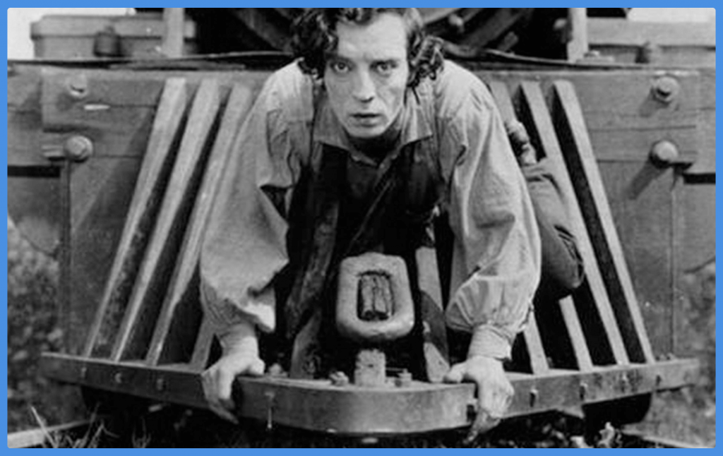the-general-buster-keaton-gifts for old movie lovers